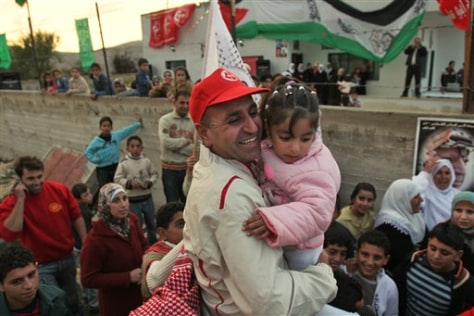 IMAGE: Freed Palestinian