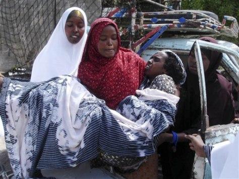 Image: Somalia fighting