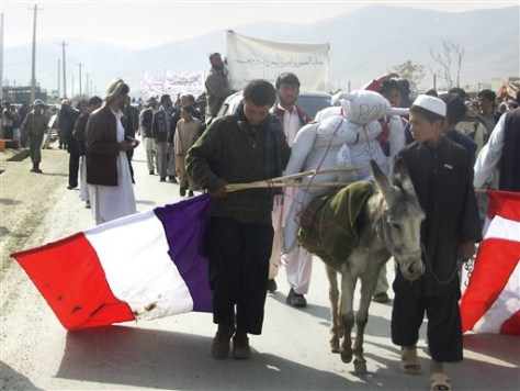 Image: Afghanistan protest