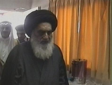 Image: Ali Husseini Al-Sistani