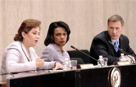 IMAGE: Sec. of State Condoleezza Rice,