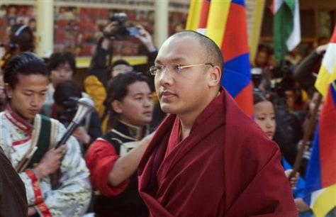 Image: Ogyen Trinley Dorje