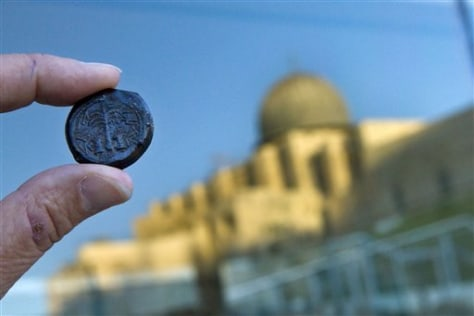 Image: Rare coin in Jerusalem