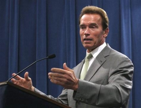 IMAGE: California Gov. Arnold Schwarzenegger