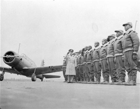 IMAGE: Tuskegee Airmen