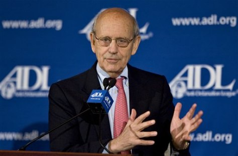 IMAGE: Supreme Court Justice Stephen Breyer