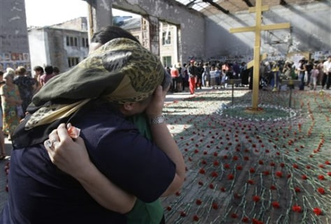 Image: Beslan school in Russia