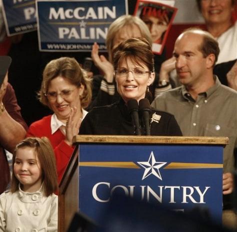 Image: Gov. Sarah Palin, R-Alaska