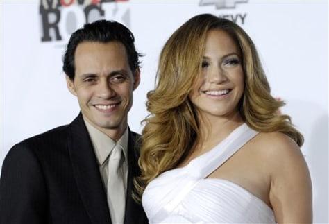 Image: Jennifer Lopez and Marc Anthony