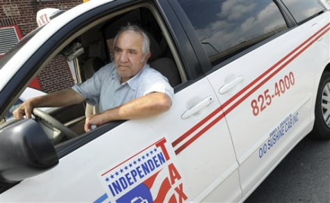 Image: Taxi driver Joseph Cohen