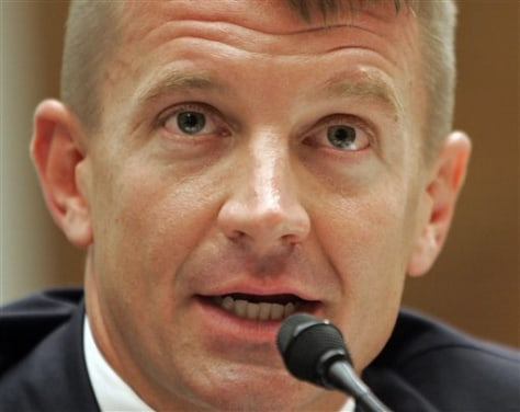 Image: Blackwater USA founder Erik Prince