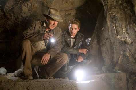 "Image: ""Indiana Jones and the Kingdom of the Crystal Skull."""