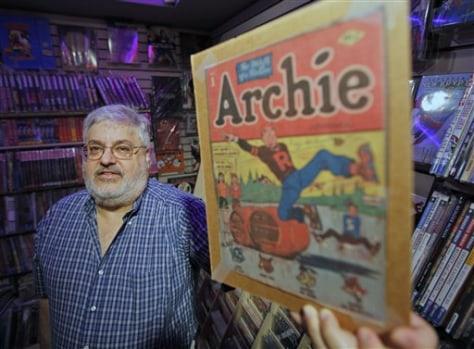 Archie Comic Protest