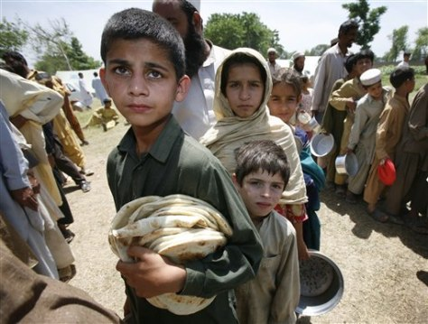Imagee: Pakistan refugee camp