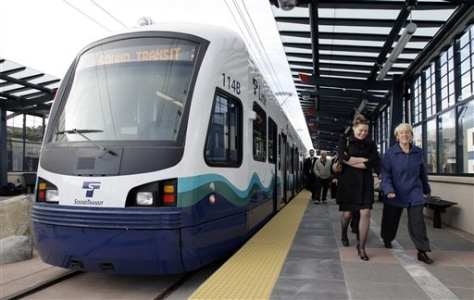Image: Seattle Light Rail