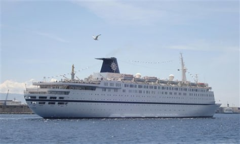 Image: Cruise ship Msc Melody