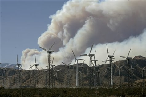 Image: Smoke from wildfire