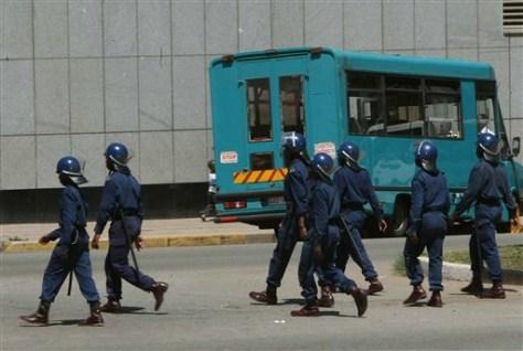 Image: Zimbabwe police