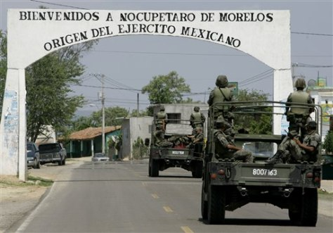 Image: Mexico Army Abuse