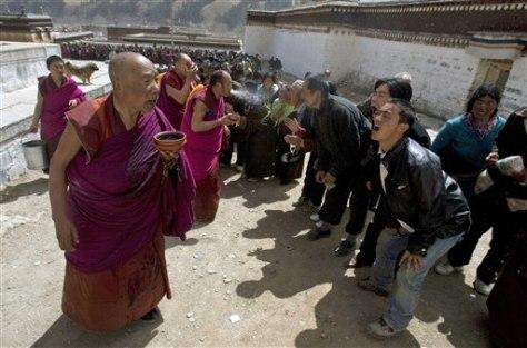 Image: Tibetan festival.
