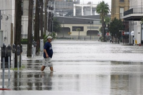 Image: Flooded Galveston