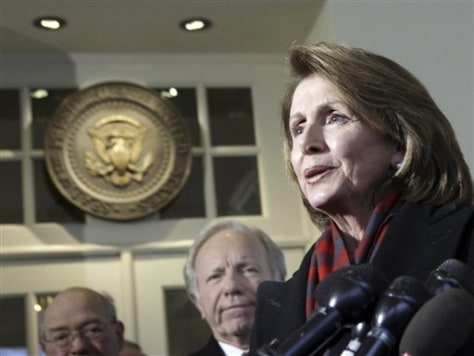 IMAGE: House Speaker Nancy Pelosi, D-Calif.