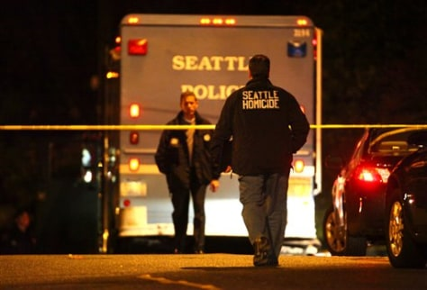 Image: Seattle officer shooting