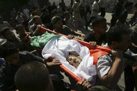 Image: Gaza Strip funeral