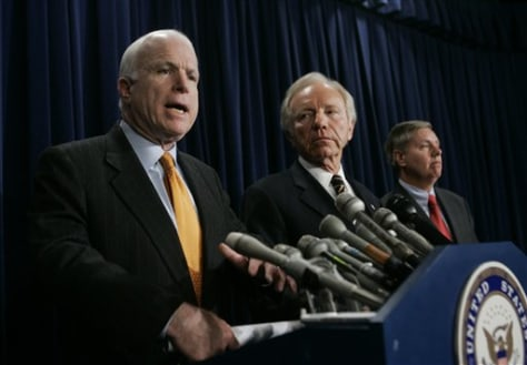 Sens. John McCain, R-Ariz.