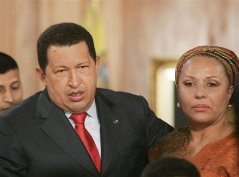Image: Hugo Chavez and Piedad Cordoba