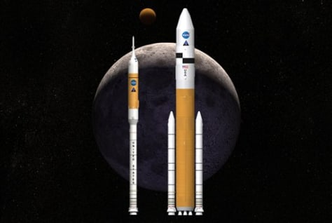 Image: Alternative Moon Rocket