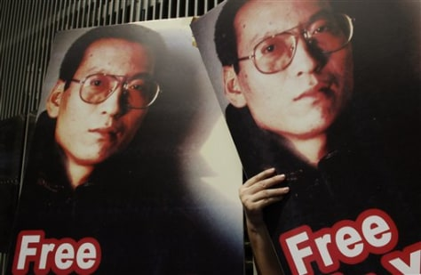 Image: China detained dissident