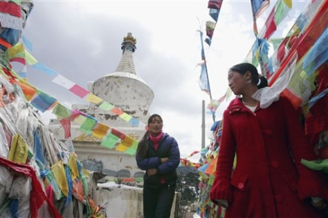 Image: Tibetans in China.