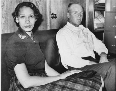 IMAGE: MILDRED AND RICHARD LOVING