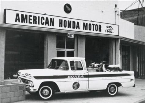 Image: Honda 50th anniversary