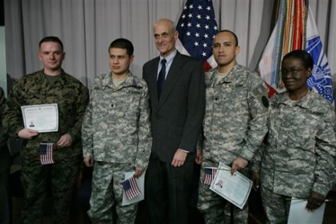 Homeland Security Sec. Michael Chertoff