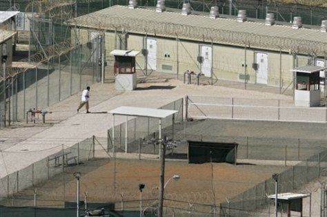 Image: Guantanamo detention center