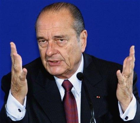 Image: Jacques Chirac