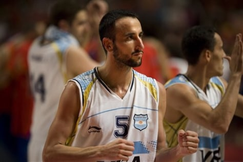 Spain Argentina Basketball