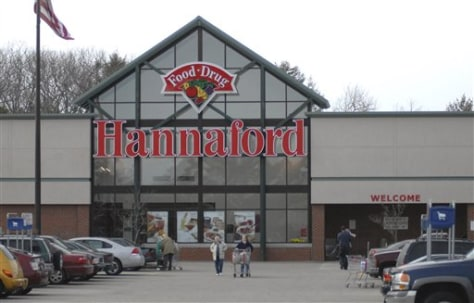 Image: Hannaford grocery store