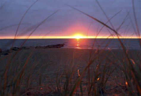 Image: Sunrise over Nantucket Sound