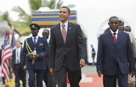 Image: Barack Obama, John Atta Mills