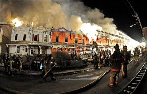 Image: Coatesville, Pa., arsons