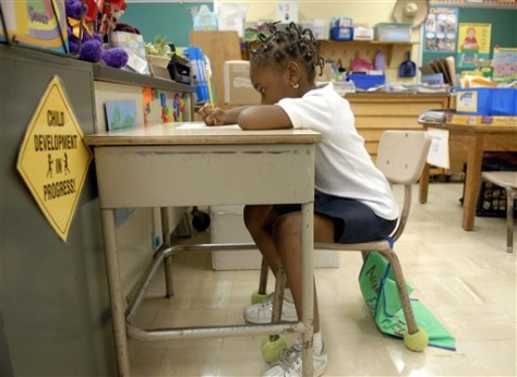 Image: First-grader
