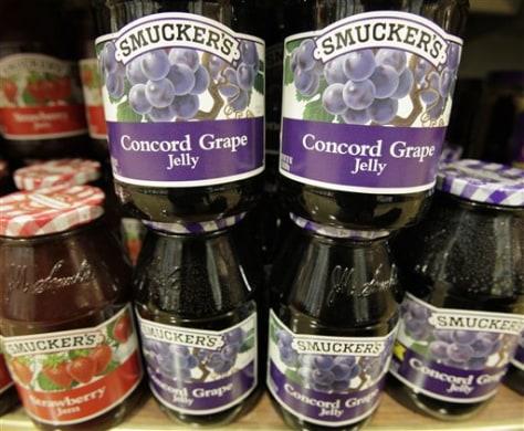 Image: Smucker's jams