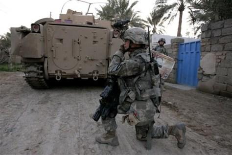 IRAQ RAID