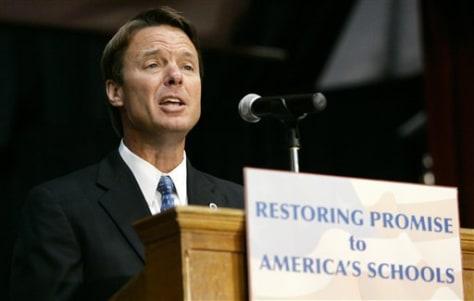 IMAGE: Sen. John Edwards, D-N.C.