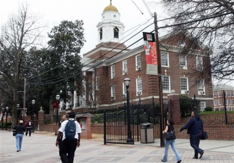Image: Clark Atlanta University in Atlanta, Ga.