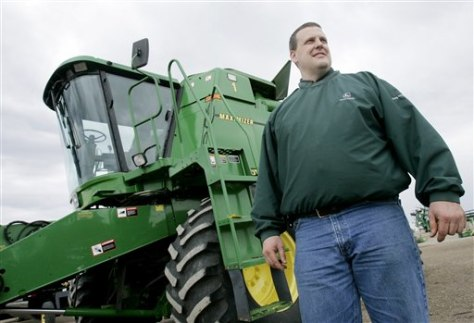 Image: John Deere dealer Donald Haug Jr.