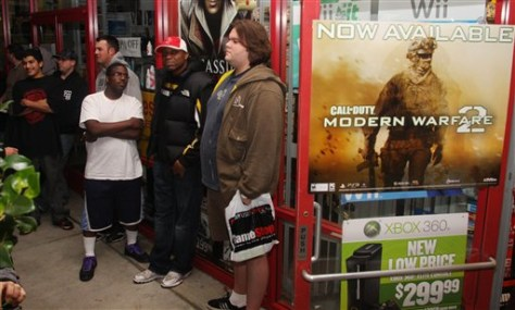 "Image: Activision ""Call of Duty: Modern Warfare 2"" promotion"